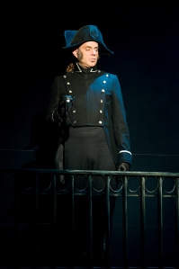 Rejean Cournoyer in the Arts Club Theatre Company's production of Les Misérables. Photo by David Cooper.
