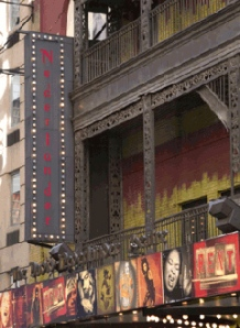 The Nederlander Theatre in New York City