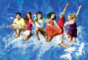 Cast of URP's production of High School Musical 2